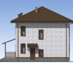 проект дома из теплоблока SDn-513 4