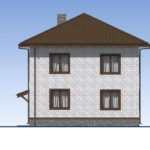 проект дома из теплоблока SDn-513 5