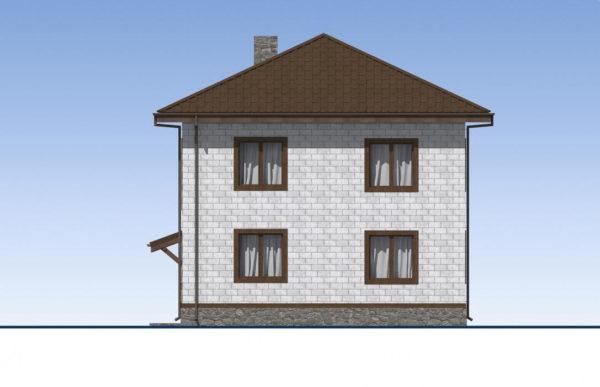проект дома из теплоблока SDn 513 5