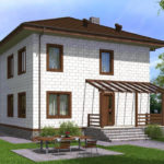 проект дома из теплоблока SDn-513 7