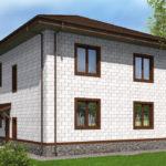 проект дома из теплоблока SDn-513 9