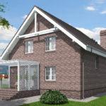 проект дома из теплоблока SDn-515 10