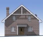 проект дома из теплоблока SDn-515 2