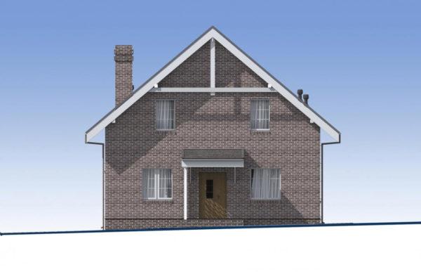 проект дома из теплоблока SDn 515 2