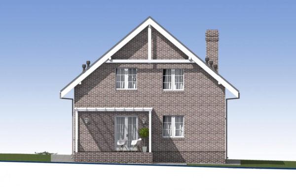 проект дома из теплоблока SDn 515 4