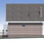 проект дома из теплоблока SDn-515 5