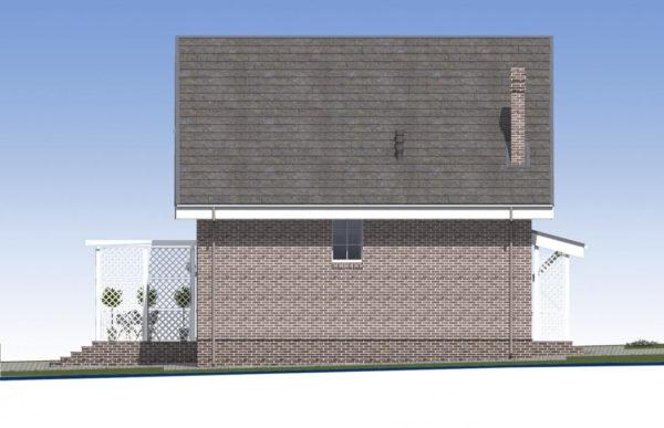 проект дома из теплоблока SDn 515 5