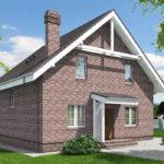 проект дома из теплоблока SDn-515 7