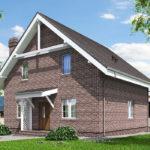 проект дома из теплоблока SDn-515 8