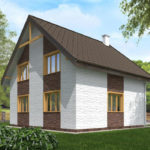 проект дома из теплоблока SDn-523 10