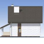 проект дома из теплоблока SDn-523 3