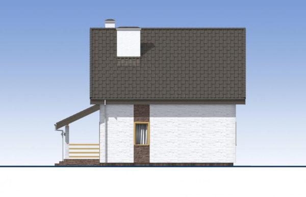 проект дома из теплоблока SDn 523 3
