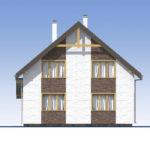 проект дома из теплоблока SDn-523 4