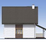 проект дома из теплоблока SDn-523 5