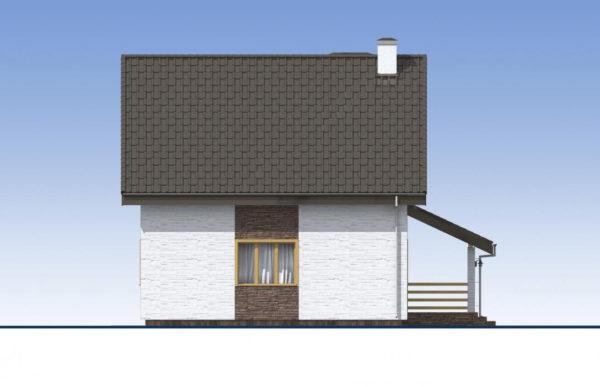 проект дома из теплоблока SDn 523 5