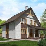 проект дома из теплоблока SDn-523 7