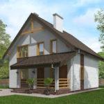 проект дома из теплоблока SDn-523 8