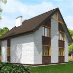 проект дома из теплоблока SDn-523 9