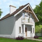 проект дома из теплоблока SDn-527 10
