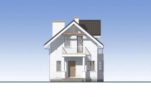 проект дома из теплоблока SDn 527 2
