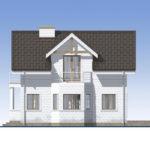 проект дома из теплоблока SDn-527 3