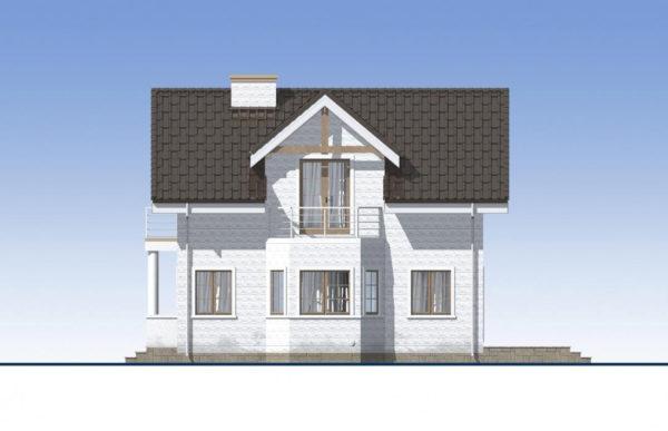 проект дома из теплоблока SDn 527 3