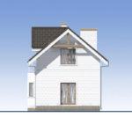 проект дома из теплоблока SDn-527 4