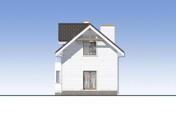 проект дома из теплоблока SDn 527 4