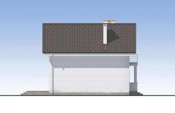 проект дома из теплоблока SDn 527 5