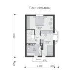 проект дома из теплоблока SDn-527 6