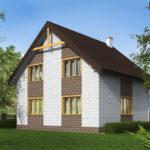 проект дома из теплоблока SDn-533 10
