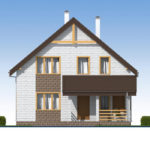 проект дома из теплоблока SDn-533 3