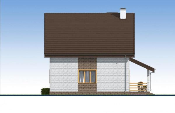 проект дома из теплоблока SDn 533 4