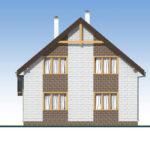 проект дома из теплоблока SDn-533 5