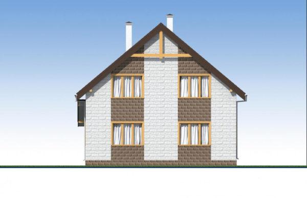 проект дома из теплоблока SDn 533 5