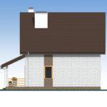 проект дома из теплоблока SDn-533 6