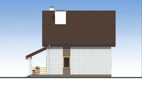 проект дома из теплоблока SDn 533 6