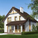 проект дома из теплоблока SDn-533 7
