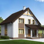 проект дома из теплоблока SDn-533 8