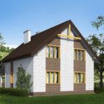 проект дома из теплоблока SDn-533 9