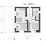 проект дома из теплоблока SDn-539 2