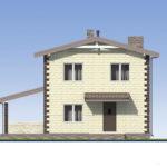 проект дома из теплоблока SDn-539 3