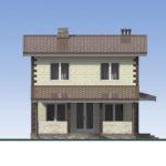 проект дома из теплоблока SDn-539 4