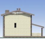 проект дома из теплоблока SDn-539 5