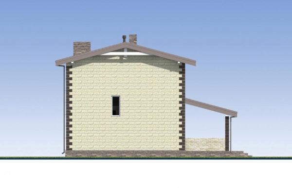 проект дома из теплоблока SDn 539 5