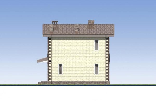 проект дома из теплоблока SDn 539 6