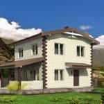 проект дома из теплоблока SDn-539 7