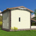 проект дома из теплоблока SDn-539 9