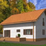 проект дома из теплоблока SDn-544 10