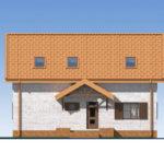 проект дома из теплоблока SDn-544 2